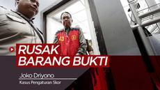 Berita video plt Ketua Umum PSSI, Joko Driyono, menjalani sidang perdana kasus perusakan barang bukti terkait skandal pengaturan skor di Pengadilan Negeri Jakarta Selatan, Senin (6/5/2019).