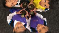 Berikut keseruan perayaan Hari Anak Nasional dengan memasak bersama di Hotel Gran Melia Jakarta. (Foto: Dok. Gran Melia Jakarta)