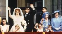 Pangeran Andrew dan Sarah Ferguson (PA / AFP/Liputan6.com/Komarudin)