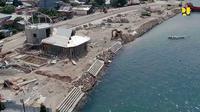 Kementerian PUPR membangun blok Beton 3B di Pantai Happy Buleleng, Bali dan  Pantai Daruba, Morotai Selatan. (Dokumen Kementerian PUPR)