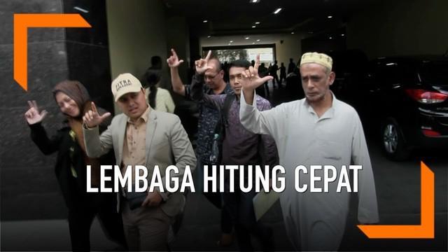 Koalisi aktivis masyarakat anti korupsi dan hoax melaporkan sejumlah lembaga hitung cepat ke kepolisian karena diduga menyebarkan berita bohong terkait quick count Pemilu 2019.
