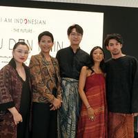 Senayan City menggandeng Oscar Lawalata dan Glenn Prasetya menggelar I am Indonesian The Future: Aku dan Kain di Senayan City | dok. Senayan City
