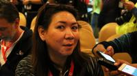 Manajer tim Indonesia di ajang Piala Thomas dan Uber 2018, Susy Susanti. (PBSI)