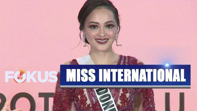 Putri Indonesia Lingkungan Jolene Marie akan mewakili Indonesia di ajang Miss International 2019 yang digelar di Jepang.