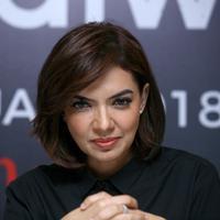 """""""Jadi menurut saya, ada banyak hal di dunia hiburan yang bisa menjadi inspirasi dan bisa menjadi hal yang menarik untuk publik,"""" ujar Najwa Shihab. (Nurwahyunan/Bintang.com)"""