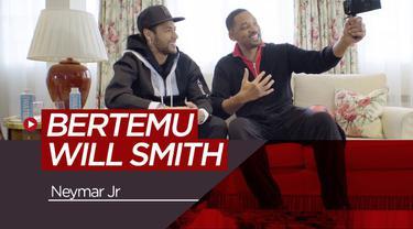 Berita video bintang PSG, Neymar mendapatkan kejutan dari aktor asal Amerika Serikat, Will Smith.