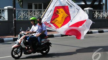 Dilarang SBY, Simpatisan Prabowo Tetap Konvoi