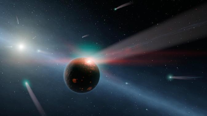 Astronom Temukan Planet Ekstrasurya Baru, Mengorbi