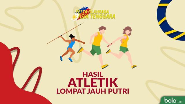 Berita video catatan Maria Londa saat meraih medali emas atletik lompat jauh putri pada SEA Games 2019.