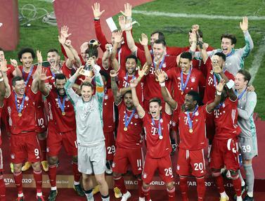 FOTO: Bayern Munchen Kembali Angkat Trofi Piala Dunia Antarklub