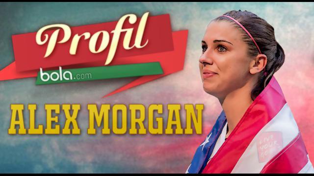 Alex Morgan, pesepak bola cantik asal Amerika Serikat berusia 26 tahun sukses membawa negaranya menjuarai Piala Dunia Wanita 2015