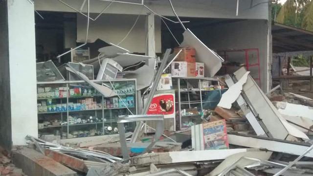 Lombok di Guncang Gempa 7 SR