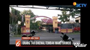 Polda Jawa Tengah masih selidiki pelaku penembakan di Mako Brimob Purwokerto.