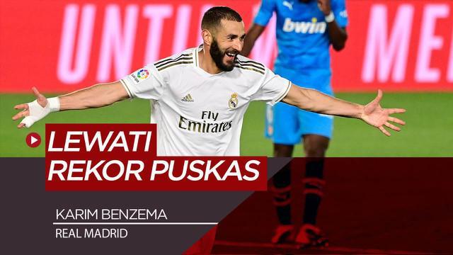 Berita Video Karim Benzema Lewati Rekor Gol Ferenc Puskas, Namun Masih Jauh dari Cristiano Ronaldo di Real Madrid