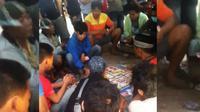 Praktik perjudian diduga beromzet ratusan juta hingga miliaran rupiah per hari di Kabupaten Sidrap, Sulawesi Selatan. (Foto: Istimewa/Eka Hakim)