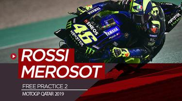 Berita video Valentino Rossi yang merosot jauh posisinya pada free practice 2 MotoGP Qatar 2019 setelah pada FP1 tempati posisi pertama. Sementara itu, Marc Marquez menjadi yang tercepat pada FP 2.