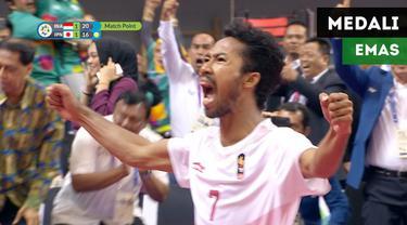 Berita video momen dramatis tim sepak takraw Indonesia saat meraih medali emas di Asian Games 2018.
