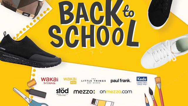 Sepatu Baru untuk Anak Sekolah dengan Diskon Menarik