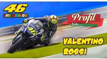 Profil Valentino Rossi asal Italia adalah pebalap yang berhasil meraih gelar juara dunia 9 kali MotoGP.