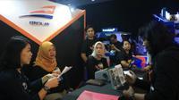 Kegiatan KAI Esports Exhibition, Goes To Malang, 12 -13 Oktober 2019 di Done UMM - Universitas Muhammadiyah Malang. (Foto: Liputan6.com/Dian Kurniawan)