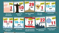 Infografis Hari Libur Nasional dan Cuti Bersama 2018 (Liputan6.com/Abdillah)
