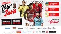 Live Streaming Bali United Tour de Java Eksklusif di Vidio 13-18 Juni 2021. (Sumber : dok. vidio.com)