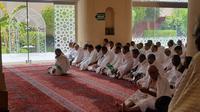 Jemaah Haji Indonesia Miqat di Bir Ali. Denny/MCH