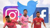 Ilustrasi - Eden Hazard, Lionel Messi, Bruno Fernandes (Bola.com/Adreanus Titus)