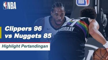 Berita Video Highlights NBA, LA Clippers Berhasil Kalahkan Denver Nuggets 96-85