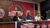 Konferensi pers Persija Vs Geylang International FC. (Bola.com/Muhammad Adiyaksa).