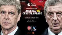 Prediksi Arsenal Vs Crystal Palace (Liputan6.com/Trie yas)