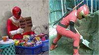 Power rangers saat nganggur (Sumber: FunnyFunian/Instagram/receh.id)