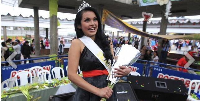 Tatiana Noguera sang Miss Sympathy 2013 | (c) merdeka.com