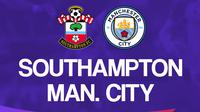 Liga Inggris: Southampton vs Manchester City. (Bola.com/Dody Iryawan)