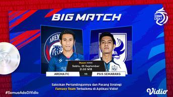 Hasil BRI Liga 1: Imbangi Arema FC, PSIS Semarang Jaga Rekor Tak Terkalahkan