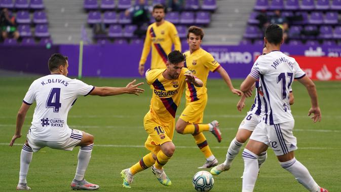 Barcelona Tekuk Real Valladolid 1-0, Azulgrana Kembali Tempel Real Madrid