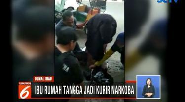 Narkoba ini berasal dari Malaysia yang dibawa dari Medan menuju Pekanbaru melalui Dumai.