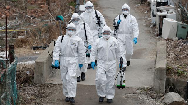 Korea Selatan Kerahkan Tentara Cegah Meluasnya Virus Corona