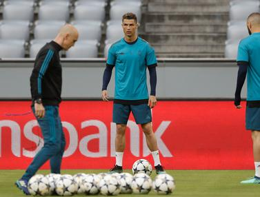 Real Madrid Jelang Hadapi Bayern Munchen