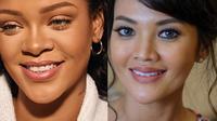 4 Gaya Farah Quinn yang Disebut Mirip Rihanna, Bak Kakak Beradik (sumber: Instagram.com/badgalriri & Instagram.com/farahquinnofficial)