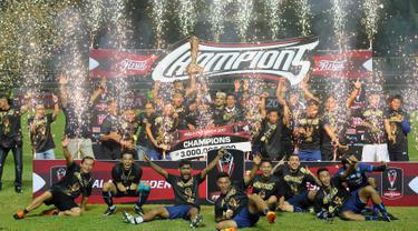 Arema FC menjadi juara Piala Presiden 2017