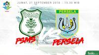 Liga 1 2018 PSMS Medan Vs Persela Lamongan (Bola.com/Adreanus Titus)