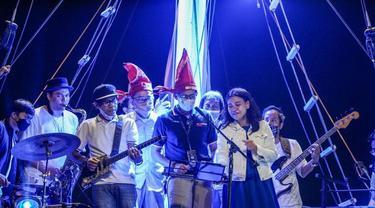 Menparekraf Sandiaga Uno menghidupkan lagi Makassar Jazz Festival (ist)