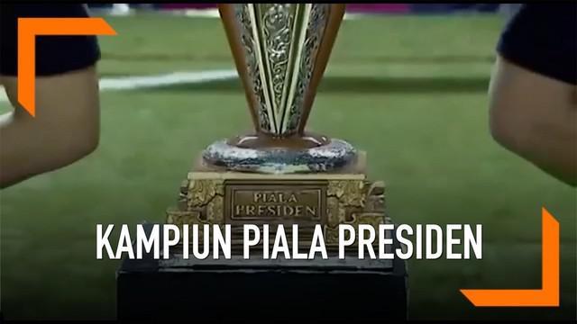 Piala Presiden 2019 akan dimulai Sabtu, 2 Maret 2019. Laga Persib Bandung vs PS Tira-Persikabo di Grup A, yang akan digelar di Stadion Si Jalak Harupat akan jadi laga pembuka ajang pramusim tahunan ini.