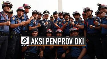 Pemprov DKI Jakarta mengirim sedikitnya 130 orang untuk membantu mengatasi Karhutla.