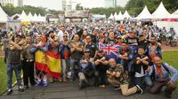 Indonesia International Bikers Gathering (IIBG) 2018 sukses digelar di Lapangan Benteng, Medan, Sumatera Utara.