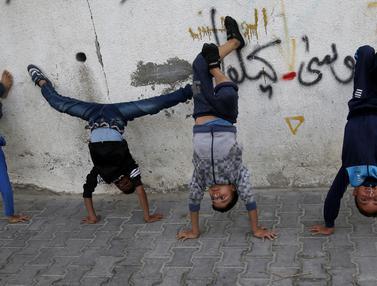 Mengintip Anak-Anak Palestina Saat Latihan Dance