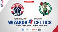 Washington Wizards Vs Boston Celtics_2 (Bola.com/Adreanus Titus)