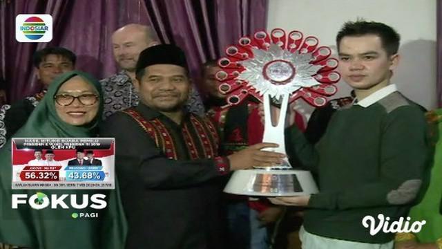 Fauzul Abadi sandang gelar duta budaya dari  bupati Bener Meriah usai menyabet juara pertama Lida 2019.