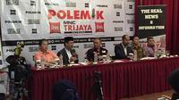 Diskusi Polemik yang membahas soal penangguhan visa umrah, Jakarta, Sabtu (29/2/2020). (Merdeka.com/Titin Supriatin)
